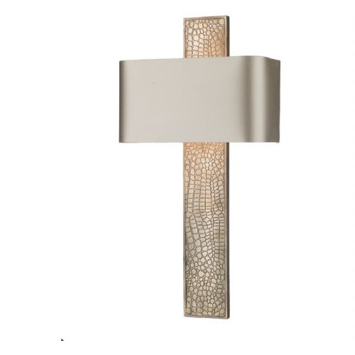 Croc Wall Light Bronze + Silk Shade (Specify Colour) CRO0700 (7-10 day Delivery) (Double Insulated)